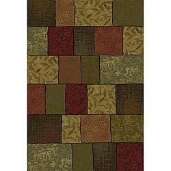 Contemporary Colorblock Rug (7'8 x 10')
