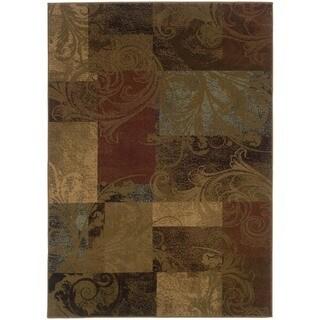 Colorblock Rug (6'7 x 9'6)
