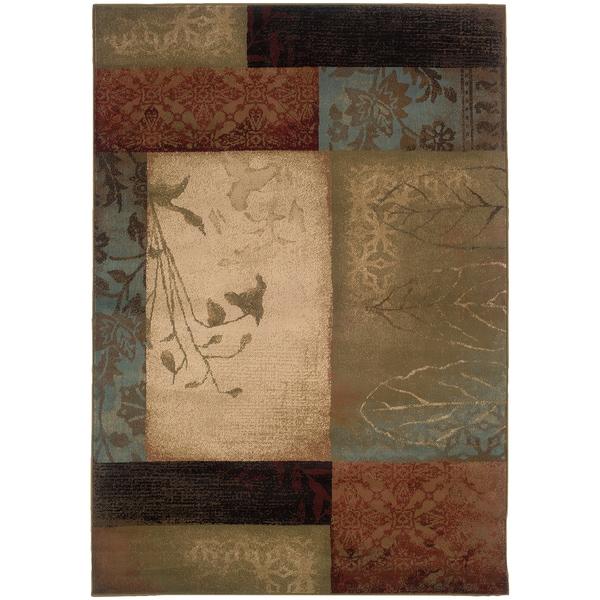 Colorblock Rug (5'3 x 7'6)
