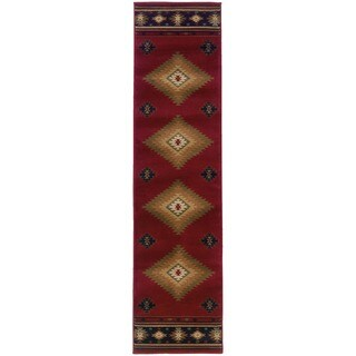 Pine Canopy Allegheny Southwestern Country Area Rug - 1'10' x 7'6'
