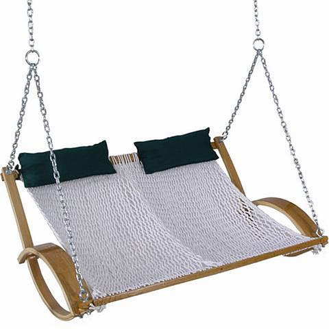 Original Double-polyester Rope Swing - White