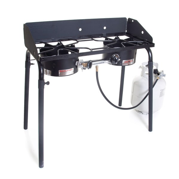 Best Portable Gas Stove : Camp chef explorer portable stove free shipping