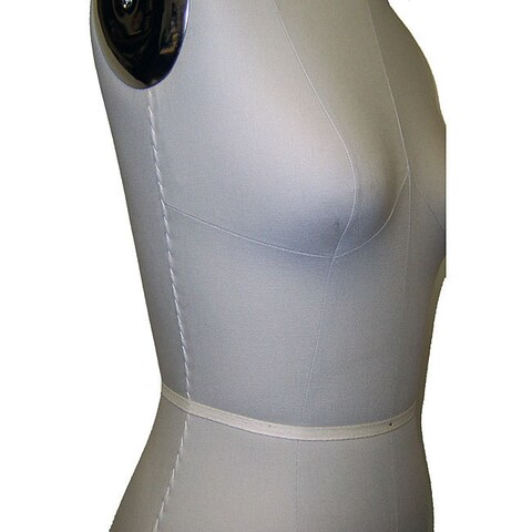 Size 10 Height-adjustable Professional Dress Form