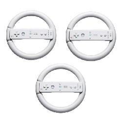 Steering Wheels for Nintendo Wii - 3 Pack