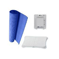 Blue 3 in 1 Bundle For Nintendo Wii Fit - Thumbnail 2