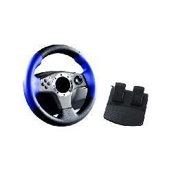 PS2 - 2 in 1 Racing Wheel - Thumbnail 2