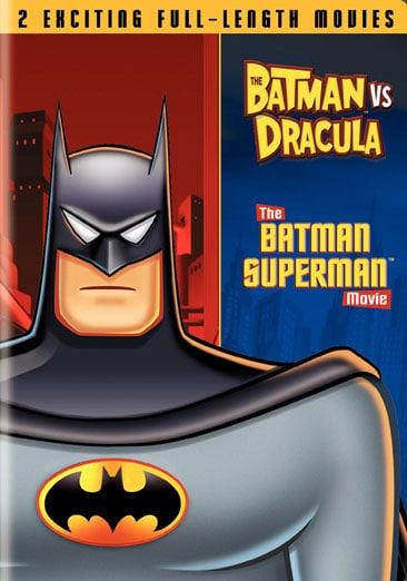 The Batman Vs Dracula/The Batman Superman Movie (DVD)
