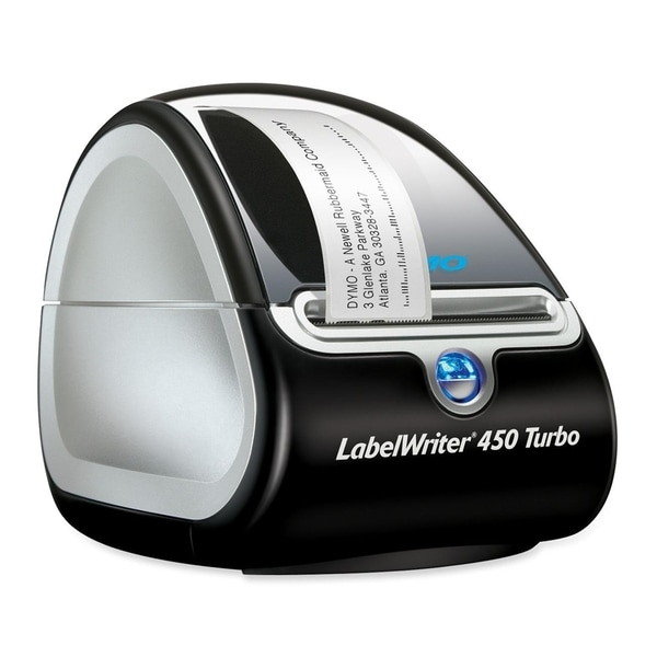 Dymo LabelWriter 450 Turbo Direct Thermal Printer - Monochrome - Labe