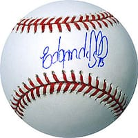 New York Mets' Edgardo Alfonzo Autographed MLB Baseball