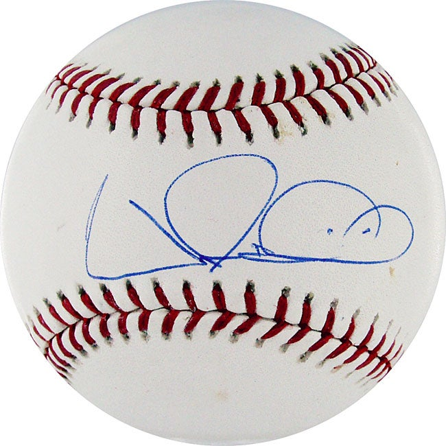 Wilson Betemit Authentic Autographed MLB Baseball