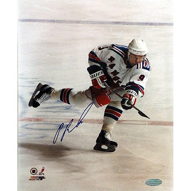 New York Rangers' Pavel Bure 8x10 Autographed Photo