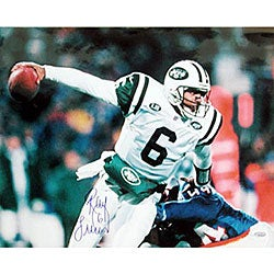 New York Jets Ray Lucas Action' 8x10-inch Autographed Photograph