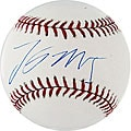 Lastings Milledge Autographed MLB Baseball
