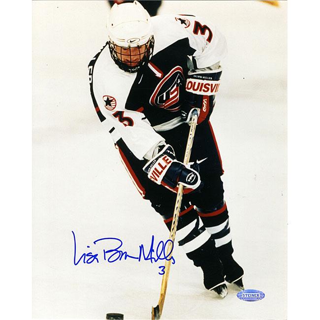 Lisa Miller 1998 US Women's Hockey 8x10 Action Photograph