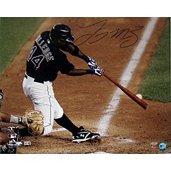 New York Mets Lastings Milledge 16x20 Autographed Photo