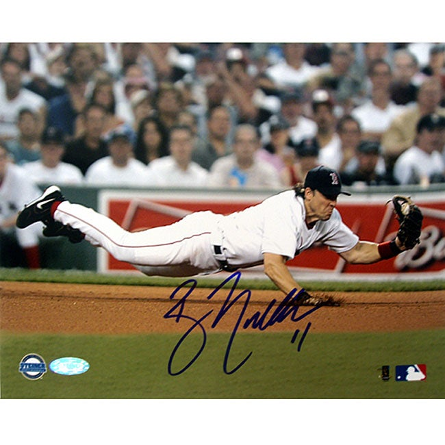 Boston Red Sox Bill Mueller Dive 8x10 Autographed Photo