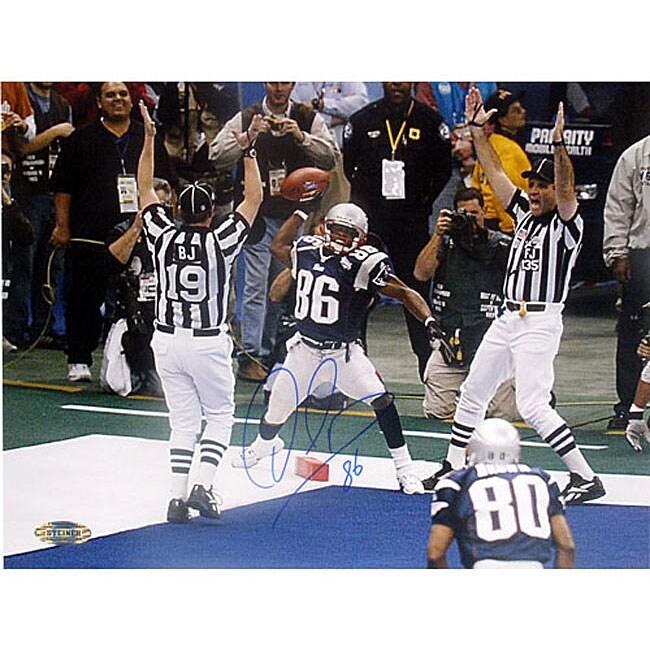 David Patten Super Bowl XXXVI Touchdown Catch Photo