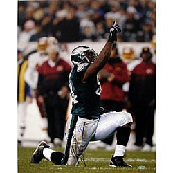 Jeremiah Trotter Celebration 16 x 20 Signed Photograph