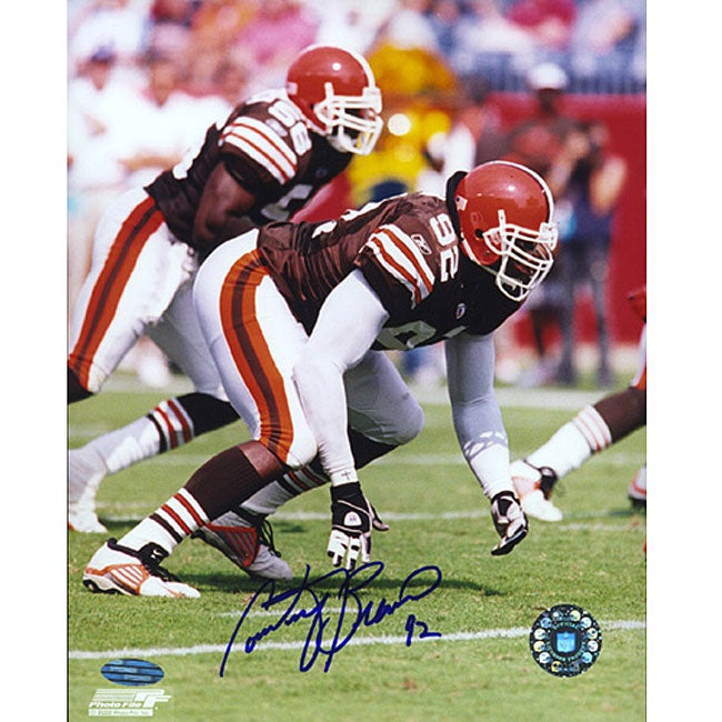 Cleveland Browns Courtney Brown Signed 8x10 Photograph