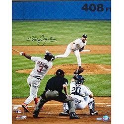 Roger Clemens Signed 4,000th Strikeout 16x20 Photograph