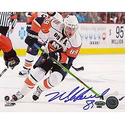 Mike Comrie Stick Handling Autographed 16x20 Photograph - Thumbnail 0