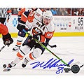 Mike Comrie Stick Handling Autographed 16x20 Photograph