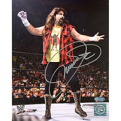 Autographed 8x10 Mick Foley Photograph