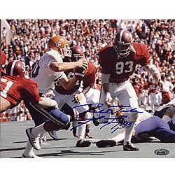Alabama Crimson Tide Marty Lyons 'Roll Tide' 8x10 Autographed Photo