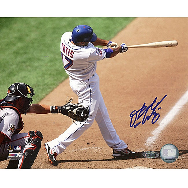 New York Mets Fernando Tatis '08 Home Swing 16x20 Autographed Photo