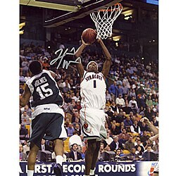 Hakim Warrick Autographed 'Jump Shot' 8x10 Vertical Photograph