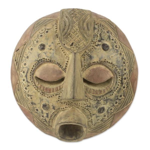 Wood 'Abundance' Mask (Ghana)