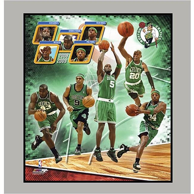 2009 Boston Celtics 11x14-inch Matted Photo