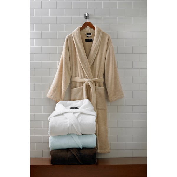 033bf69ca6 Shop Supima Cotton Bath Robe - Free Shipping Today - Overstock - 4024083