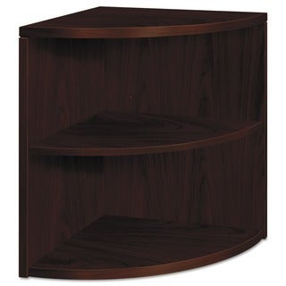 HON 10500 Series 2-Shelf Bookcase - Mahogany