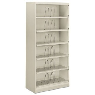 HON 600 Series 6-shelf Legal Open Shelf File Cabinet