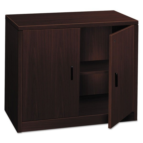 HON 10500 Series Mahogany 36 x 20 x 29 1/2 Storage Cabinet with Doors  sc 1 st  Overstock.com & Shop HON 10500 Series Mahogany 36 x 20 x 29 1/2 Storage Cabinet with ...