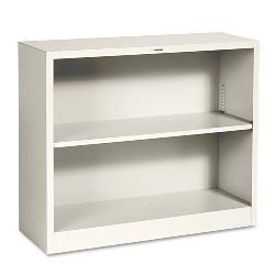 HON 29-Inch Metal Bookcase with Adjustable Shelf