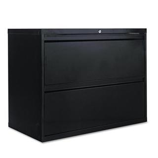 Alera Black 36 Inch Lateral File Cabinet