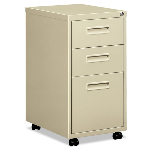 HON 1600 Series 20 Inch Deep 3 Drawer Pedestal File Cabinet