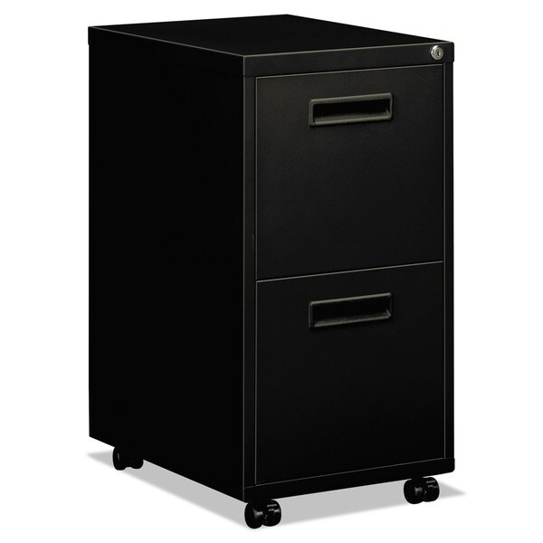 Hon 1600 series 20 inch deep 2 drawer pedestal file for Kitchen cabinets 20 inches deep