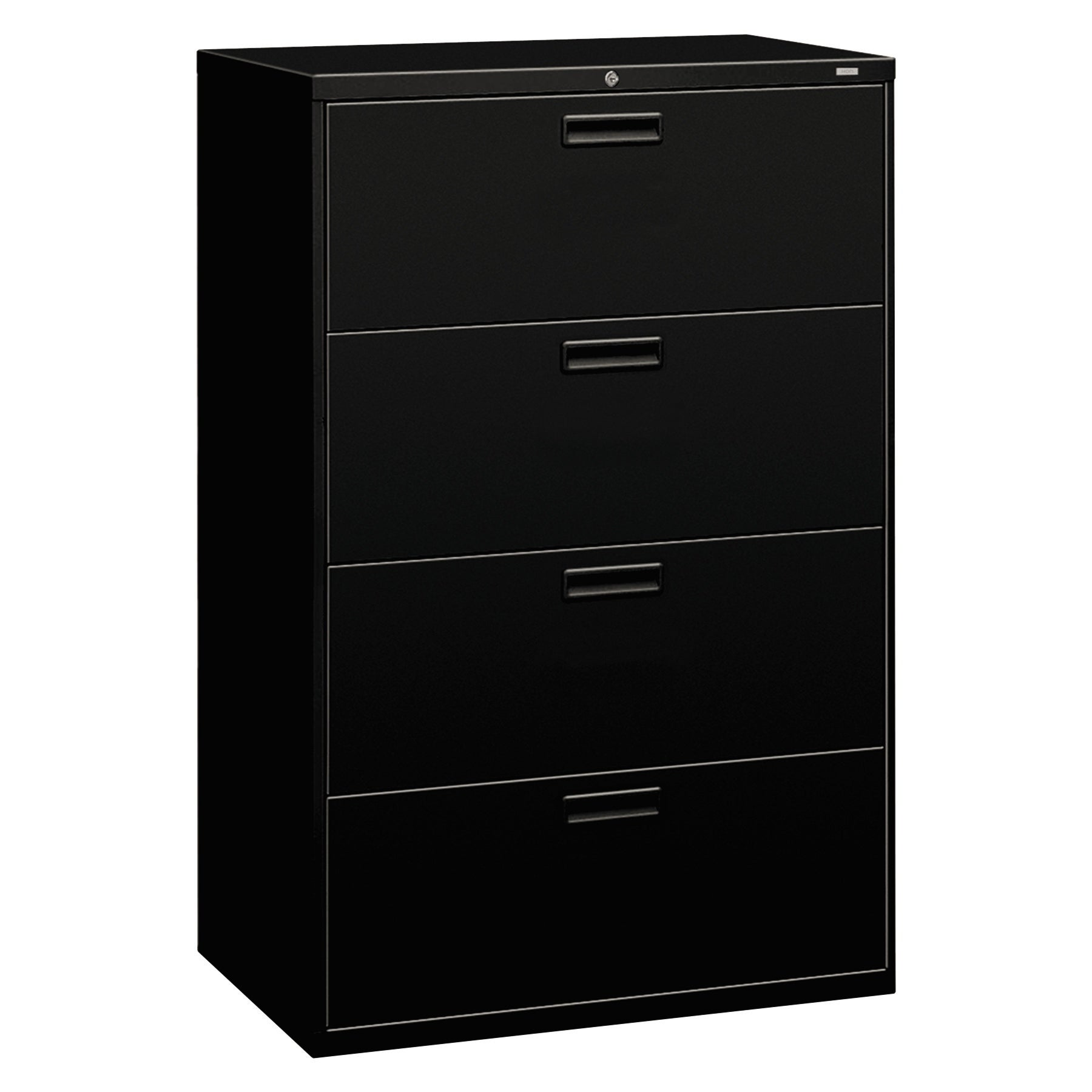 HON 500 Series Black 4-drawer Lateral File  sc 1 st  Overstock.com & Buy Hon Filing Cabinets u0026 File Storage Online at Overstock.com | Our ...