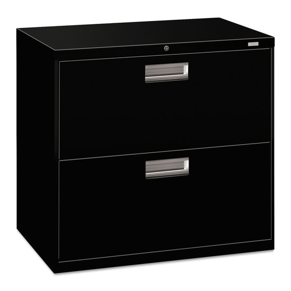 hon 600 series black 30 inch wide 2 drawer lateral file cabinet free shipping today. Black Bedroom Furniture Sets. Home Design Ideas