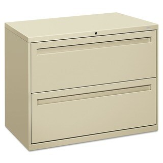 HON 700 Series 2-drawer Lateral Putty File Cabinet