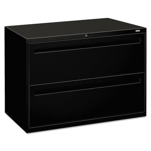 HON 700 Series Black 2-drawer Lateral File