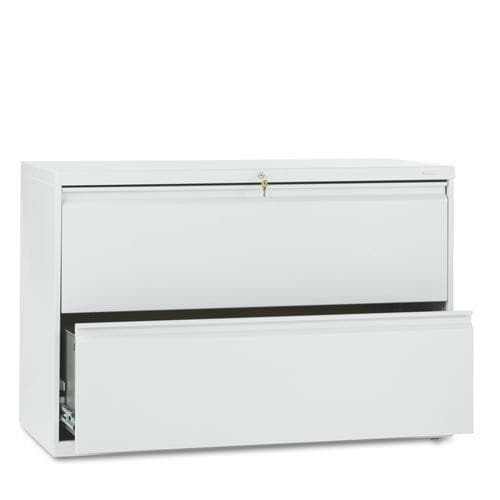 HON 800 Series 42-inch Wide 2-Drawer Lateral File Cabinet - Free ...