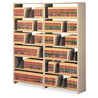 Tennsco Snap-Together 7-Shelf Shelving Starter Set