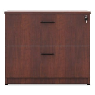Alera Valencia Series Two Drawer Lateral File, Cherry