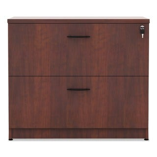 Alera Valencia Series Cherry 34 in. W x 22 3/4 in. D x 29 1/2 in. H 2-drawer Lateral File