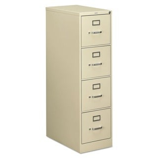 HON 510 Series 4-drawer Full-Suspension Putty File Cabinet