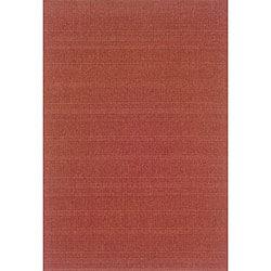Laguna Red Rug (5'3 x 7'6)